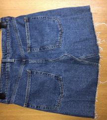 H&M nova jeans suknja