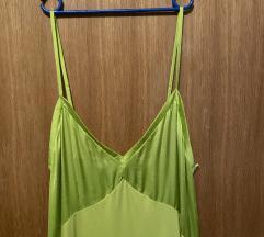 Zara zelena haljina novo!!
