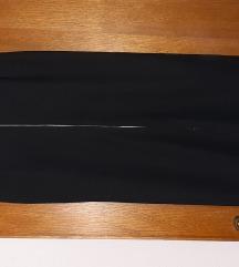Crna uska svečana suknja