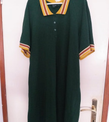 Retro zelena haljina