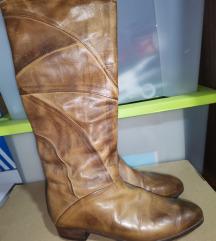 Vintage kožne Čizme (ručni rad)