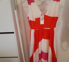 Plisirana Mango haljina s printom