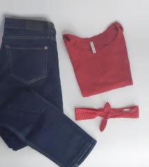 LOT - Mango traperice i majica