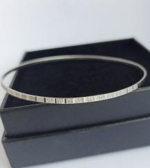 Vintage obruč narukvica, srebro 835