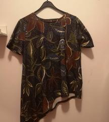 Asimetrična šarena majica ZARA