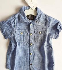 Nova H&M Logg košulja vel. 92 ( 1,5 - 2 g)