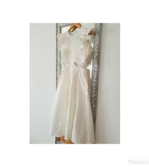 Nova self-portrait bijela ljetna haljina UK8