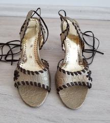 Ženske sandale, vezanje oko nogu, broj 36, 23cm