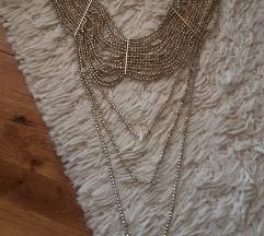 H&M zlatna ogrlica