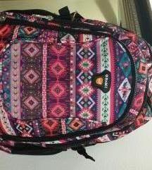 Nov,nenošen veliki aztec/tribal/etno ruksak