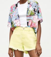 Zara nove fluorescentne traper hlačice