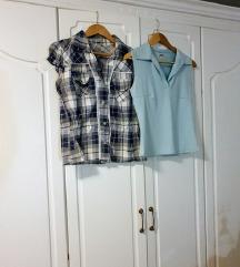 Lot majica-  2 košulje sa kragnom