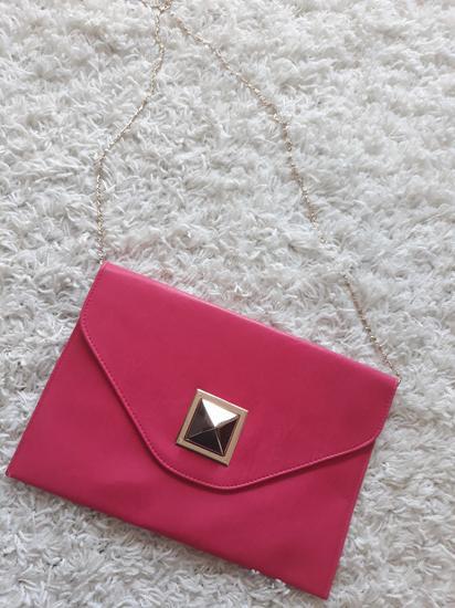 Fuksija pismo torbica