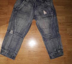 Capri jeans hlače