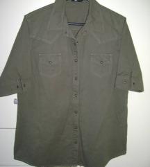 SNIŽENO: Maslinasta košulja Tezenis L- XL