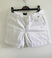 Massimo Dutti bijele kratke hlače šorc