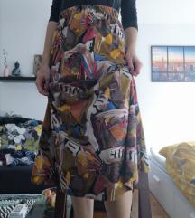 Zanimljiva midi suknja. Pt u cijeni