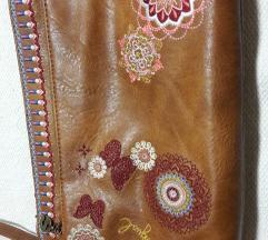 Desigual nova torbica od prave kože