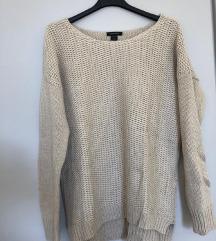 Bež pulover