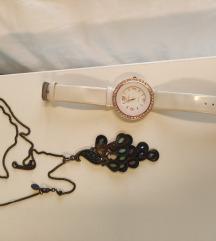 Duga ogrlica Accessorize na pauna