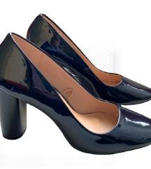 Zara Trafaluc tamno plave cipele na petu