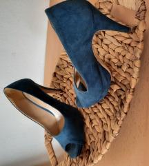 Zenske plave cipele