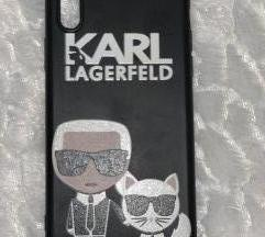 iPhone Xs maskica case cover Karl Lagerfeld