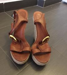 Burberry sandale na punu petu