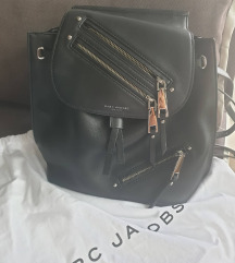 MARC JACOBS  Zip Pack Small Leather Backpack