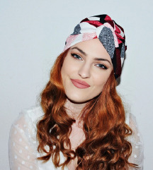 Novi šareni turban