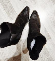 Stradivarius čizme/gležnjače kaubojske