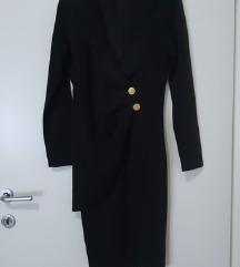 NOVO crna elegantna haljina