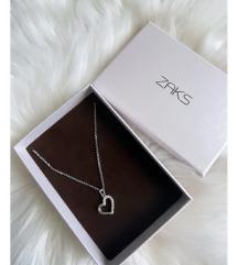Novi ZAKS lančić sa privjeskom na srce