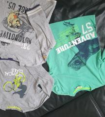 Tri pamucne majice za djecake