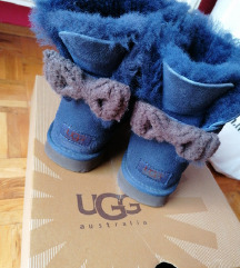 Ugg original knit bow SNIŽENO