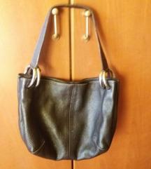 FURLA - crna kožna torbica, ženska crna torba