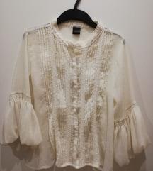 Bijela bluza košulja