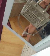 Bež sivkasta torba