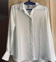 Bijela svilena košulja / bluza