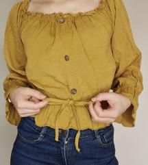 Tamno žuta bluza