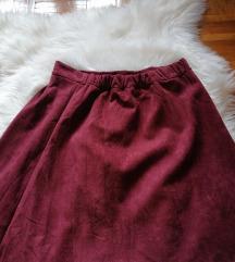 Bordo suknja NOVO