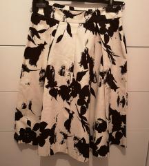 Zara midi cvjetna suknja