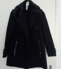 Crni kaputić, Mango, XS