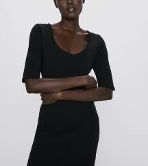 Zara crna haljina - nenošena