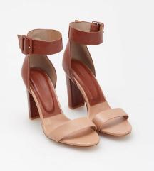 Reserved smeđe sandale
