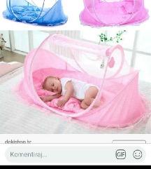 Prijenosni lezaj /krevetic za bebu