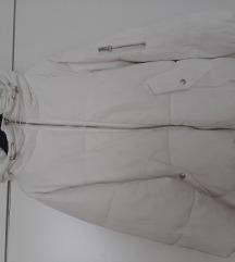 Bijela zimska jakna