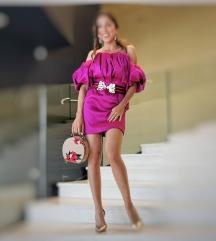Asos haljina s puf rukavima