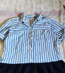Neobična košulja/tunika s volanom