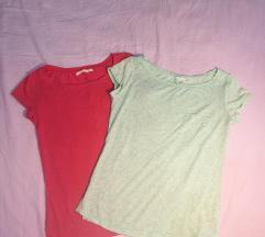 Lot 2 majice Bershka